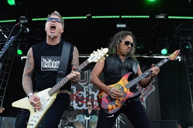 Video: Dehaan (Metallica, pues) toca todo