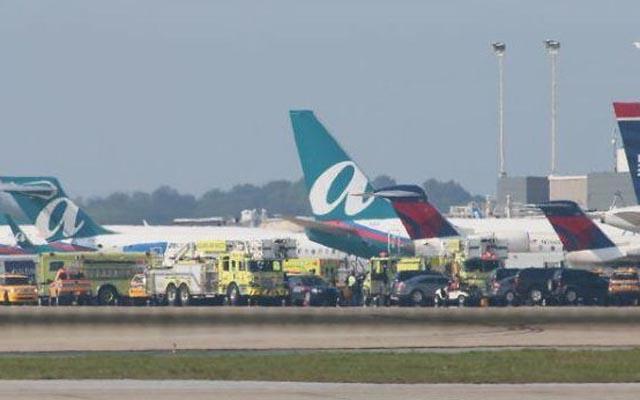 Se registra explosión en el aeropuerto de Atlanta