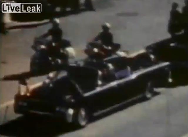 Revelan video integro del asesinato de JFK en YouTube