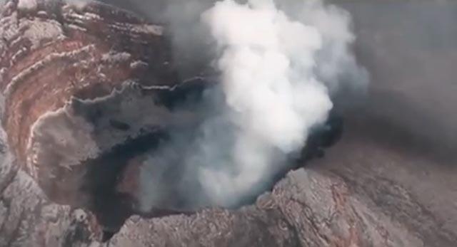 10 erupciones volcánicas vistas desde el espacio