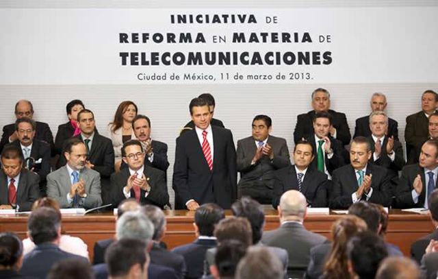 Peña Nieto promulga Reforma en Telecomunicaciones