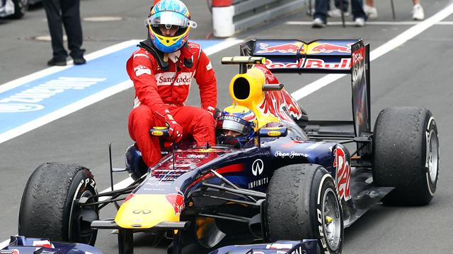 Fernando Alonso y la posibilidad de ir a Red Bull