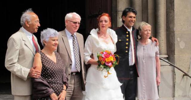 Florence Cassez se casa en Francia con franco-mexicano