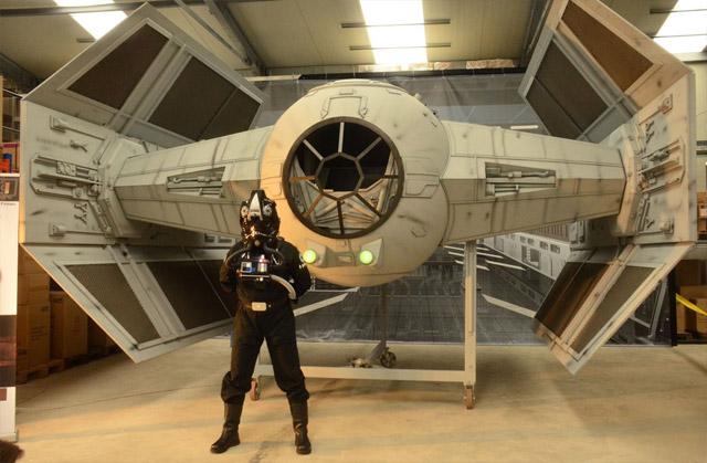 Nerdgasmo: Construyen nave de Star Wars a tamaño real