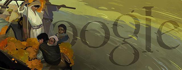 Google dedica su doodle al pintor mexicano Saturnino Herrán