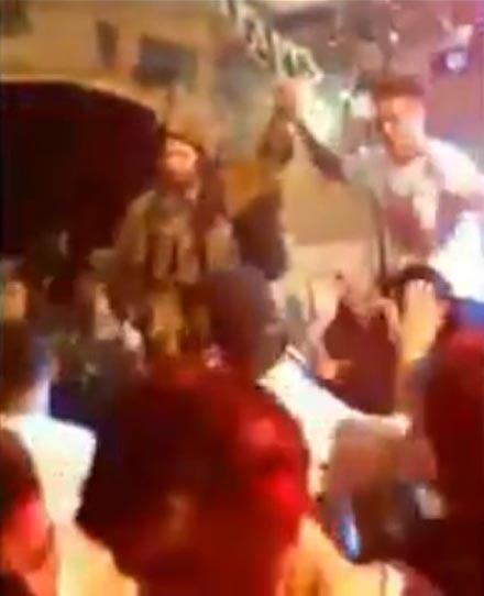 Por andar de fiesta con unos palestinos, unos soldados israelís serán sancionados