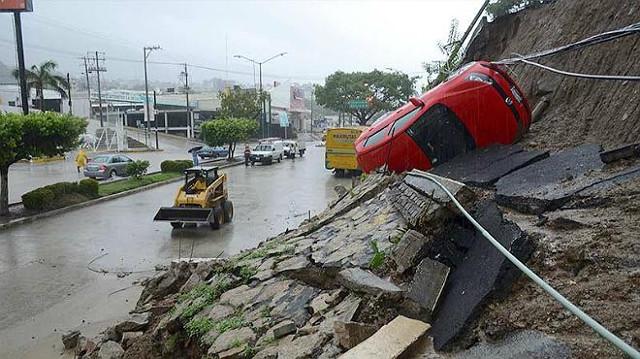 Huracán «Manuel» mostró que Autopista del Sol estaba mal construida ¿de quién es la culpa?