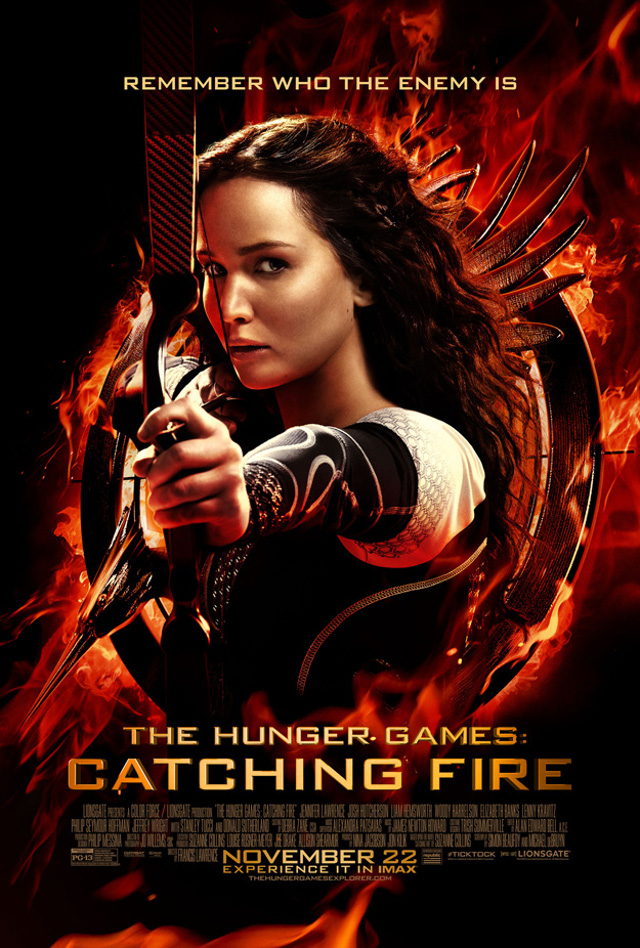 Checa el póster final de The Hunger Games: Catching Fire