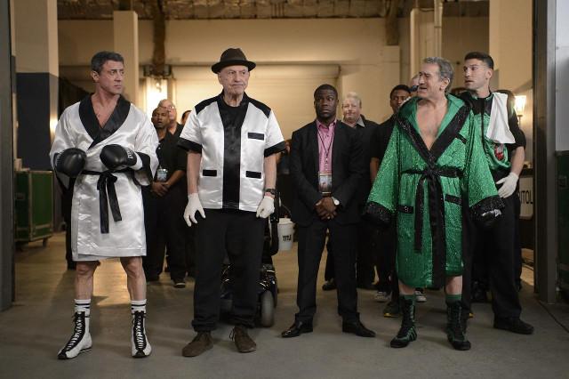Sylvester Stallone vs Robert De Niro en el primer trailer de Grudge Match