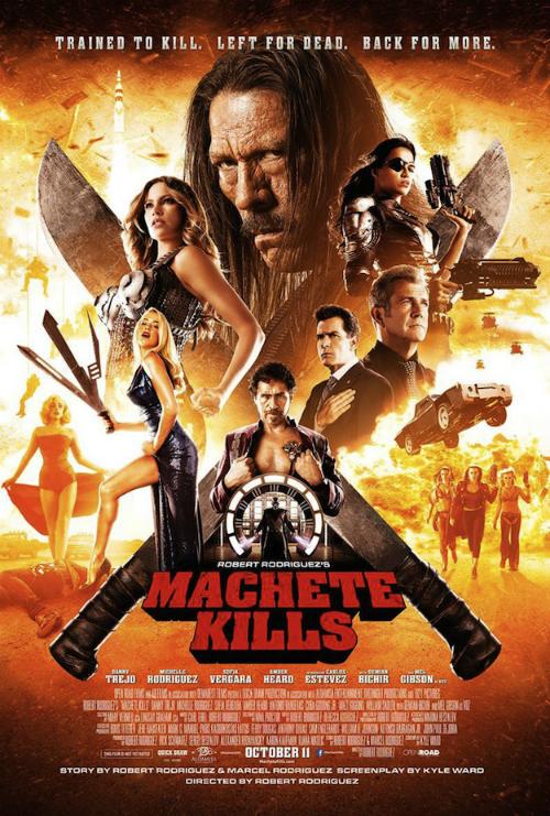 Más sangre, violencia y destrucción en el nuevo trailer de Machete Kills