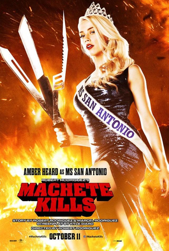 Conoce más sobre las bellas y letales mujeres que salen en Machete Kills