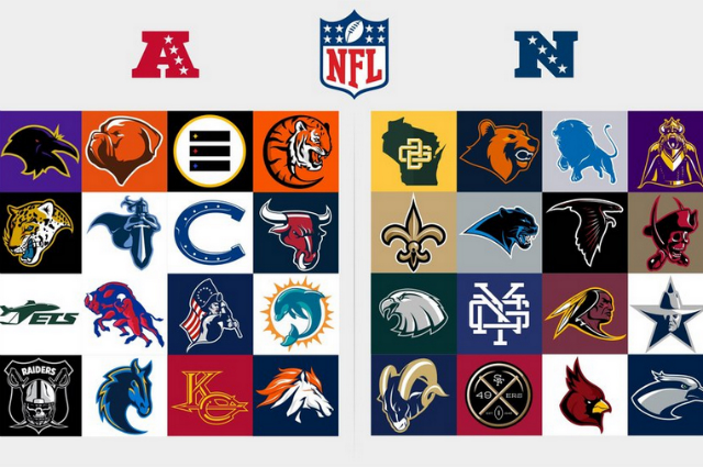 Checa un rediseño de los 32 logos de la NFL 4f16babe103