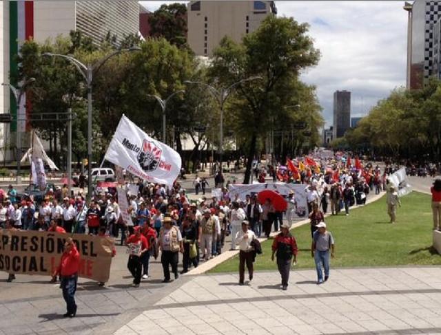 La Marcha del SME va a San Lázaro (+ mapa y fotos)