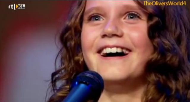 A los 9 años asombra al mundo con su potente voz de soprano