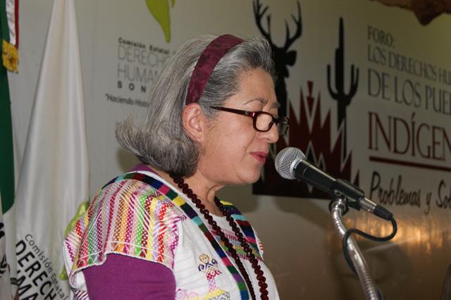 Visitadora CNDH declara que «los indígenas son necios como mulas»