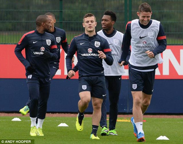 Video: ¿Qué está haciendo Jack Wilshere en el entrenamiento de Inglaterra?