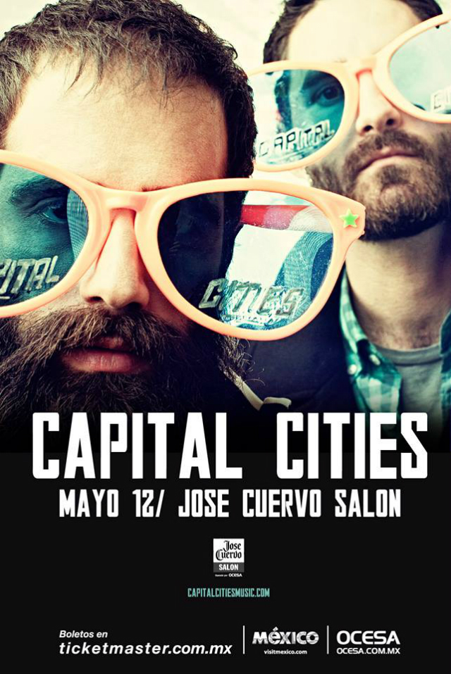 ¡Gana boletos para el concierto de Capital Cities!