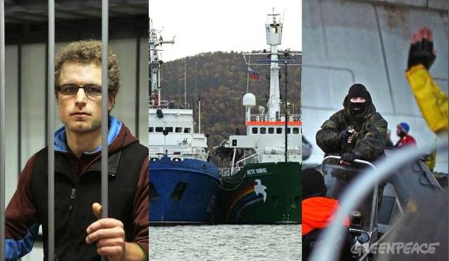Liberan a 15 de los 30 activistas de Greenpeace detenidos en Rusia
