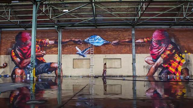 Limitless: arte urbano hecho en un timelapse