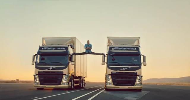 El sorprendente comercial de Jean Claude Van Damme para Volvo