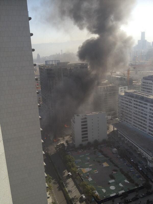 Explosión sacude el centro de #Beirut, muere ex ministro de Finanzas