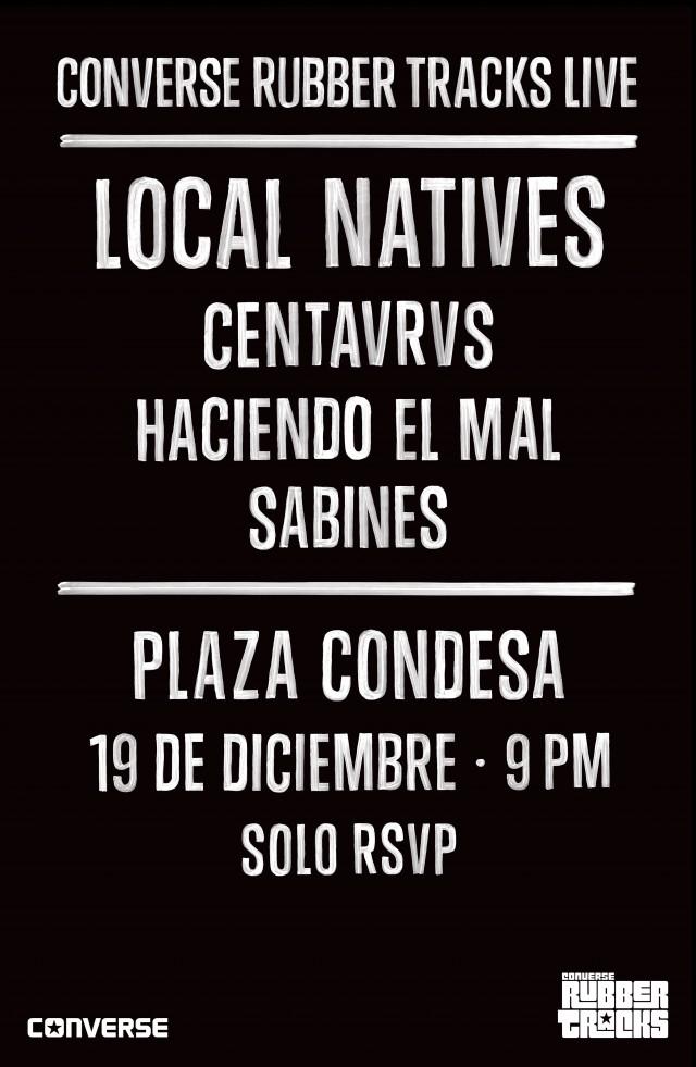 ¡Gana boletos para el concierto de Local Natives y Centavrvs!