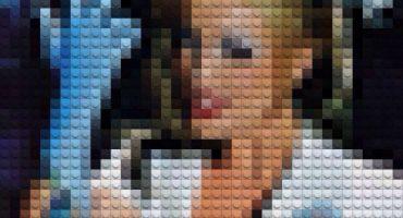 Portadas de discos recreadas (digitalmente) con Legos