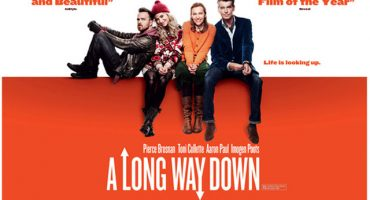 Primer avance de la película de 'A Long Way Down' de Nick Hornby