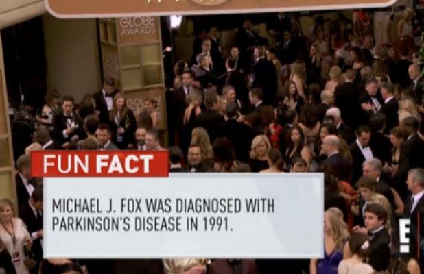 E! se disculpa por tratar Parkinson de Michael J. Fox como un dato divertido