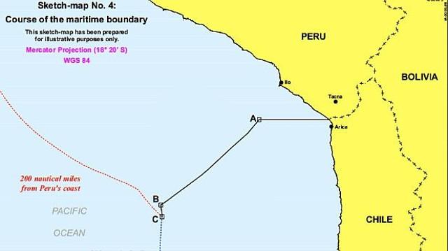 La Haya resuelve disputa entre Chile y Perú y fija nuevos límites marinos