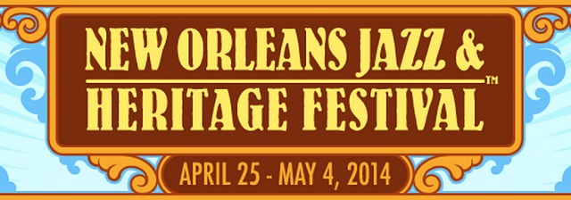 Cartel del New Orleans Jazz & Heritage Festival 2014