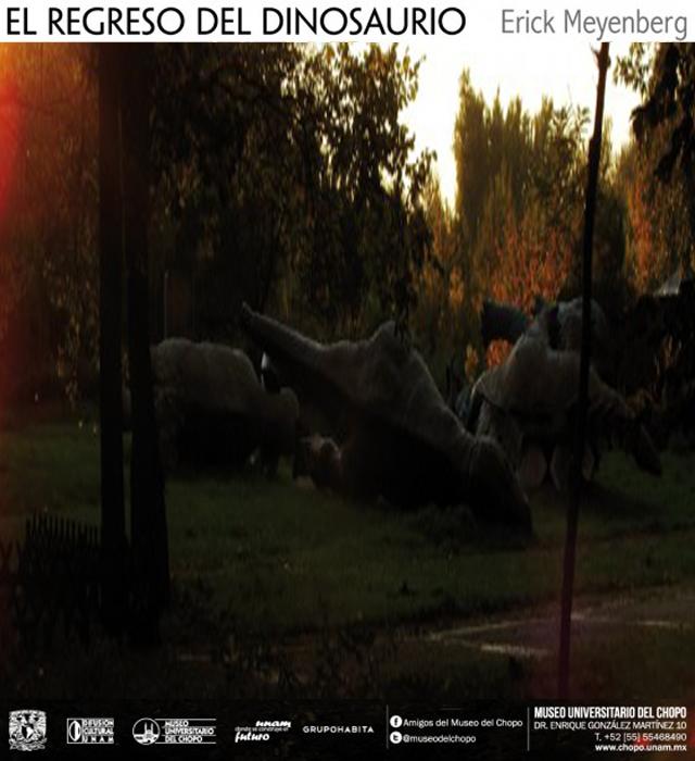 El regreso del dinosaurio de Erick Meyenberg