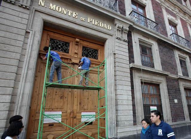 Profeco castiga al Monte de Piedad, a la fundación Rafael Dondé y a Montepío Luz Saviñón