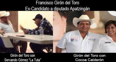 Difunden fotos de ex candidato a diputado por el PAN con