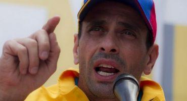 Capriles, opositor de Nicolás Maduro, denuncia que fue inhabilitado por 15 años