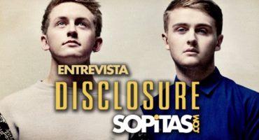 Entrevista con Disclosure para Sopitas.com