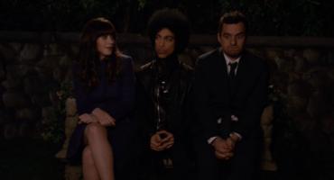 Prince apareció en el episodio de anoche de New Girl (fotos + videos)