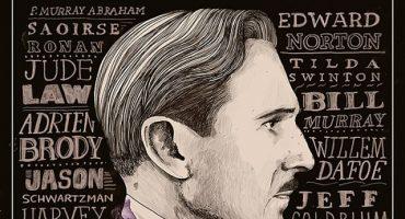 Checa el póster más reciente de The Grand Budapest Hotel, la nueva película de Wes Anderson