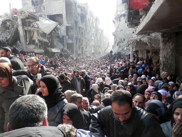 Galería: así viven refugiados palestinos en Siria