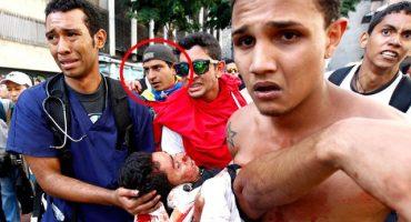 Estudiante venezolano contó por Twitter cómo marchó, ayudó a las víctimas y fue herido de muerte