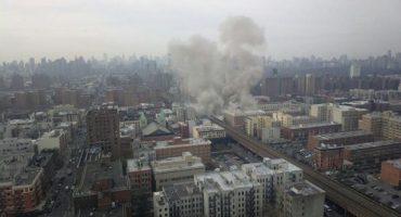 Van 7 muertos por derrumbe en NY, 2 podrían ser mexicanas