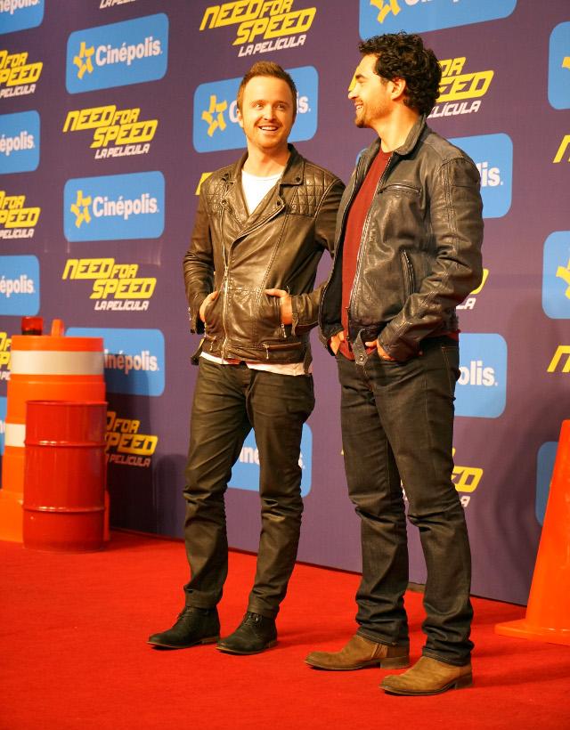 Entrevista: Aaron Paul y Ramon Rodriguez hablan de Need for Speed
