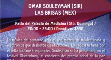 ¡Gana boletos para la clausura del festival Aural con Omar Souleyman!