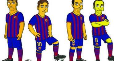 Barcelona presentó a sus jugadores