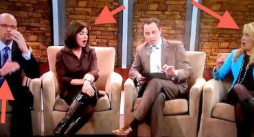 Blooper: Noticiero de la cadena Fox muestra la imagen de un pene