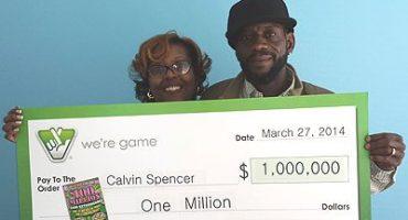 Lucky bastards: pareja gana tres veces la lotería en un mes