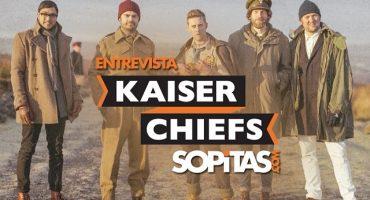 Entrevista con Kaiser Chiefs para Sopitas.com
