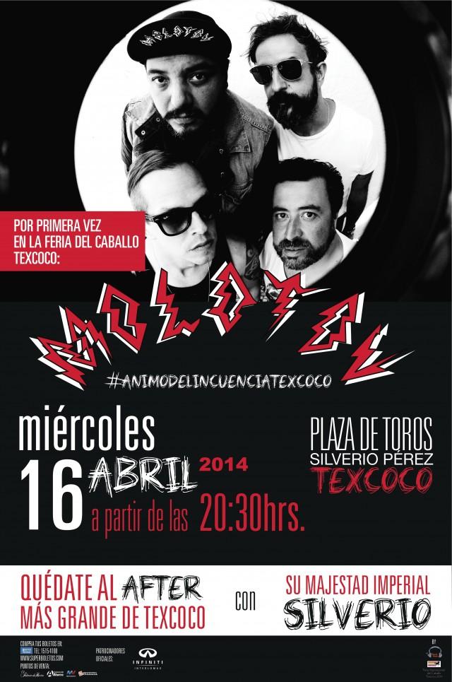 ¡Gana boletos para ver en Texcoco a Molotov y Silverio!