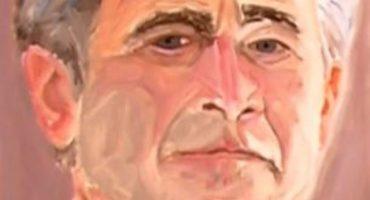 Mira las limitadas habilidades artísticas de Bush (hijo)