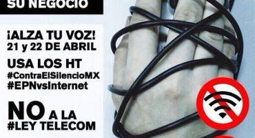 ¿Cómo te afecta la #LeyTelecom? Defiéndete de #EPNvsInternet